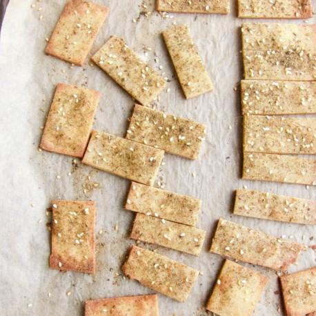 Crackers au Za'atar