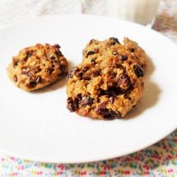Biscuits petit déjeuner aux flocons d'avoine