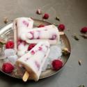 Bâtonnets glacés Rose Framboises