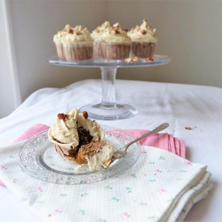 Cupcakes Carotte Noisette