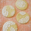 Biscuits dentelle amande citron