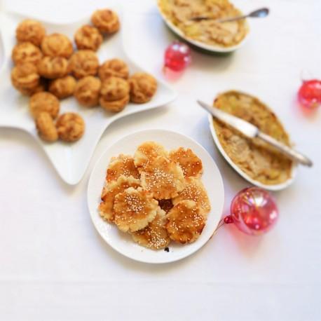 Crackers au riz japonais Senbei