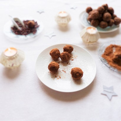 """Truffes"" de fruits secs"