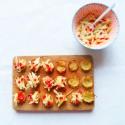 Nids de pomme de terre, pickles express pomme, fenouil