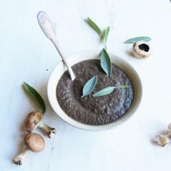 Crème de champignon à la sauge