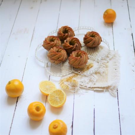 Petits gâteaux citron, amande