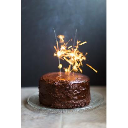 Gâteau d'anniversaire au chcocolat