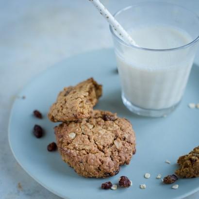 Cookies aux flocons d'avoine et aux raisins secs